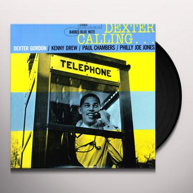 Dexter Gordon DEXTER CALLING Vinyl Record