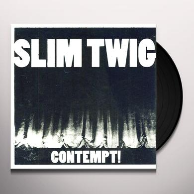 Slim Twig CONTEMPT Vinyl Record - Limited Edition