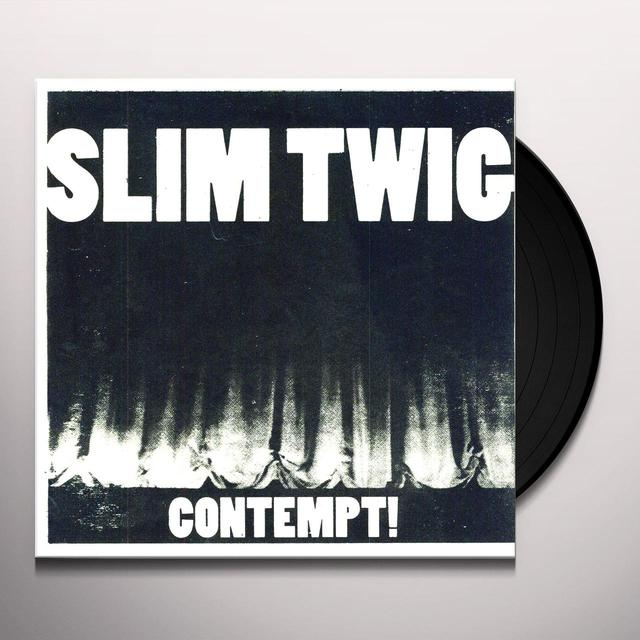 Slim Twig CONTEMPT Vinyl Record