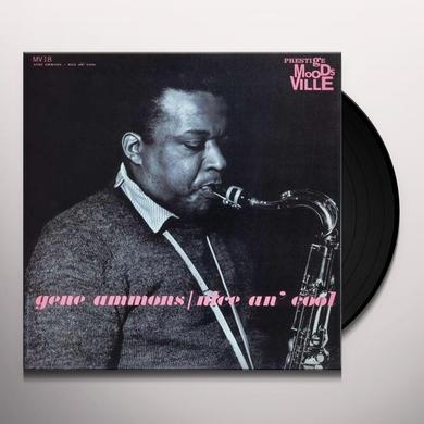 Gene Ammons NICE AN COOL Vinyl Record