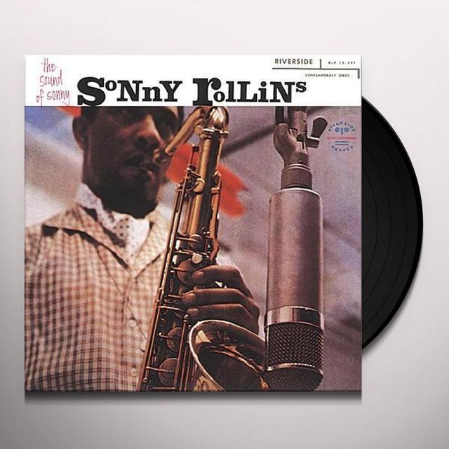 Sonny Rollins SOUND OF SONNY Vinyl Record - 180 Gram Pressing