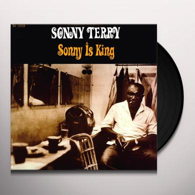 Sonny Terry SONNY IS KING Vinyl Record