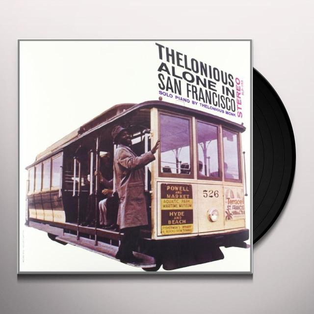Thelonious Monk THELONIOUS ALONE IN SAN FRANCISCO Vinyl Record - 180 Gram Pressing