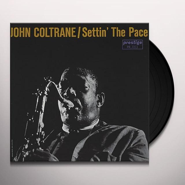 John Coltrane SETTIN THE PACE Vinyl Record - 180 Gram Pressing