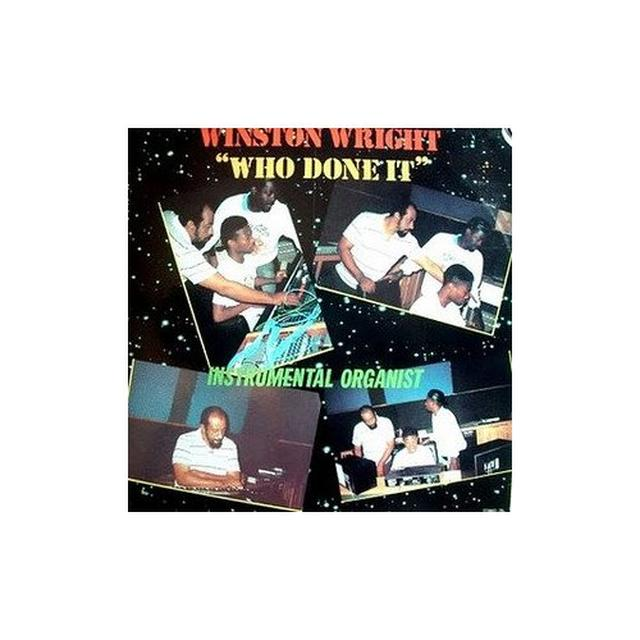 Winston Wright WHO DONE IT: INSTRUMENTAL ORGANIST Vinyl Record