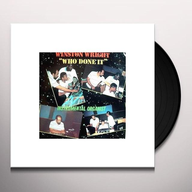 Winston Wright WHO DONE IT: INSTRUMENTAL ORGANIST Vinyl Record