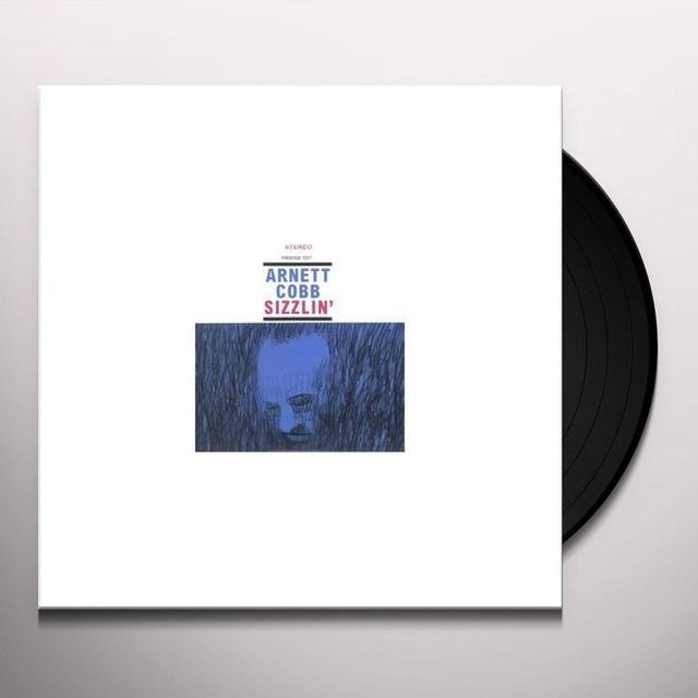 Arnett Cobb SIZZLIN Vinyl Record - 180 Gram Pressing