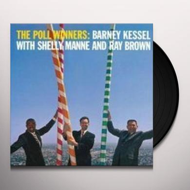 Barney Kessel / Shelly Manne / Ray Brown POLL WINNERS Vinyl Record - 180 Gram Pressing