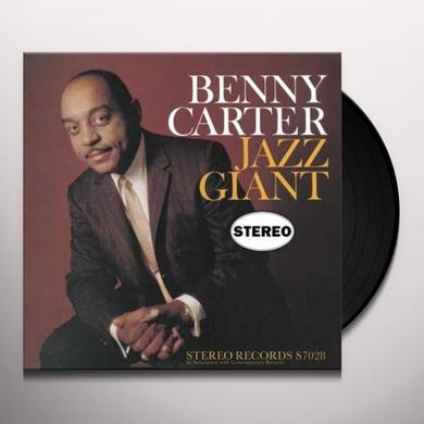 Benny Carter JAZZ GIANT Vinyl Record - 180 Gram Pressing
