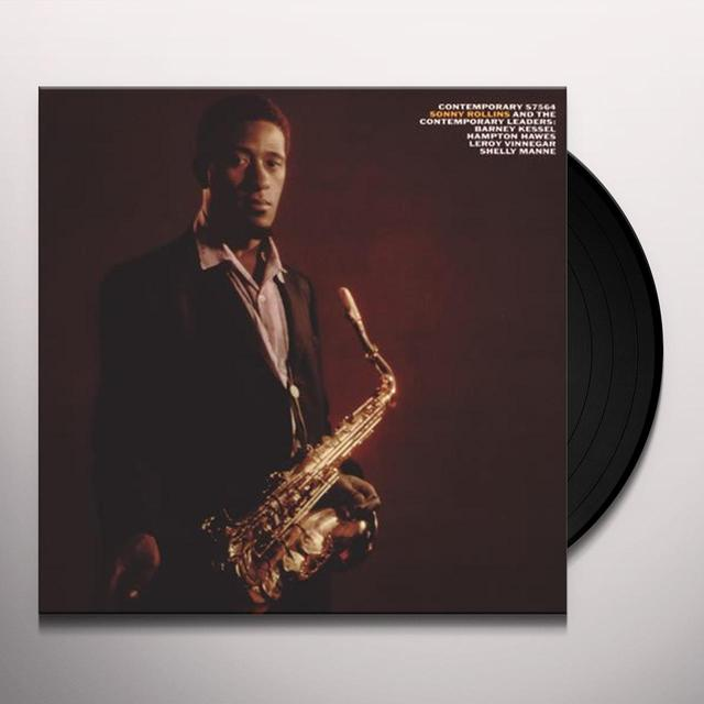SONNY ROLLINS & CONTEMPORARY LEADERS Vinyl Record - 180 Gram Pressing