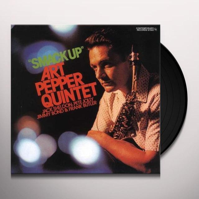 Art Pepper SMACK UP Vinyl Record - 180 Gram Pressing