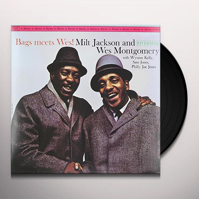Milt Jackson / Wes Montgomery BAGS MEETS WES Vinyl Record - 180 Gram Pressing