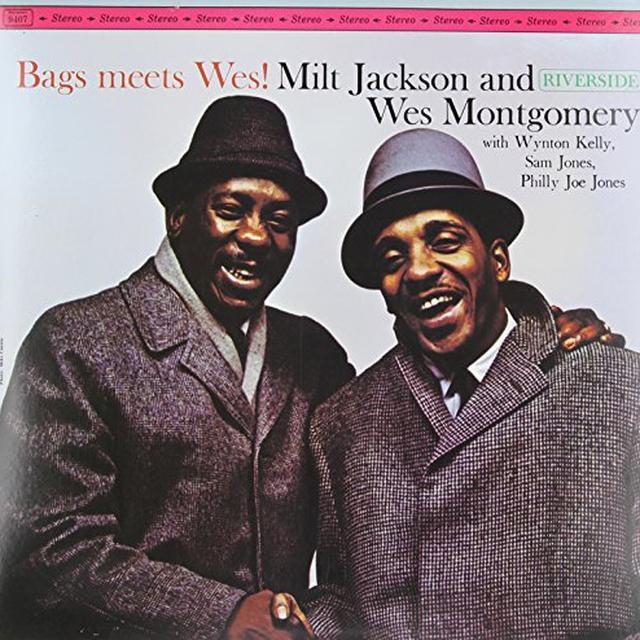 Milt Jackson / Wes Montgomery BAGS MEETS WES Vinyl Record - 180 Gram Pressing