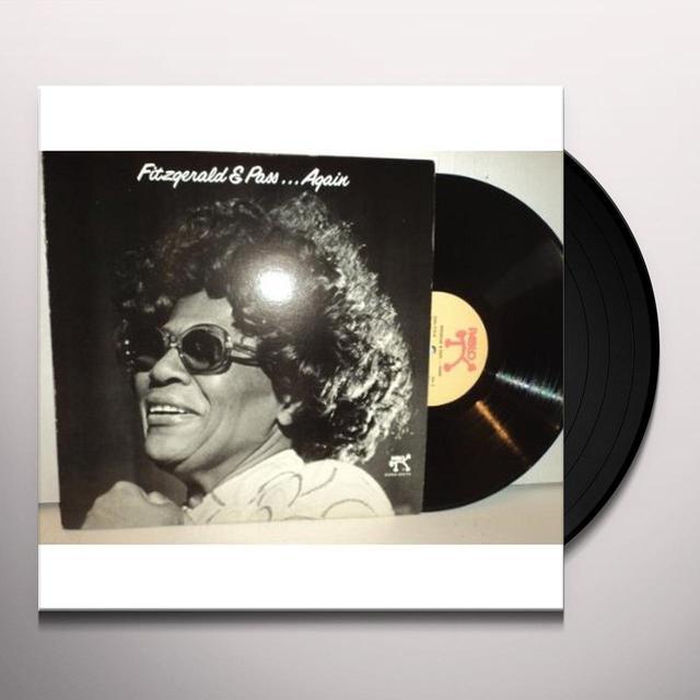Ella Fitzgerald FITZGERALD & PASS AGAIN Vinyl Record - 180 Gram Pressing