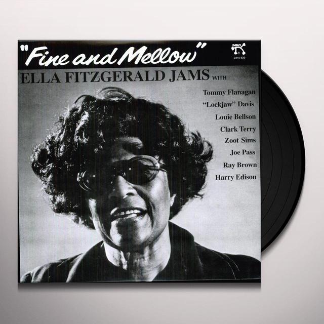 Ella Fitzgerald FINE & MELLOW Vinyl Record - 180 Gram Pressing
