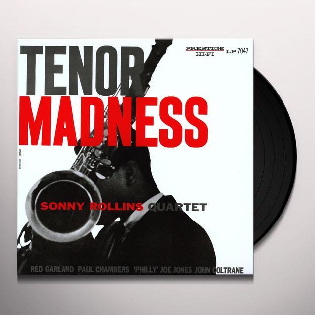 Sonny Rollins TENOR MADNESS Vinyl Record