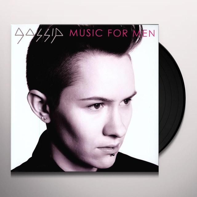 Gossip MUSIC FOR MEN Vinyl Record - 180 Gram Pressing