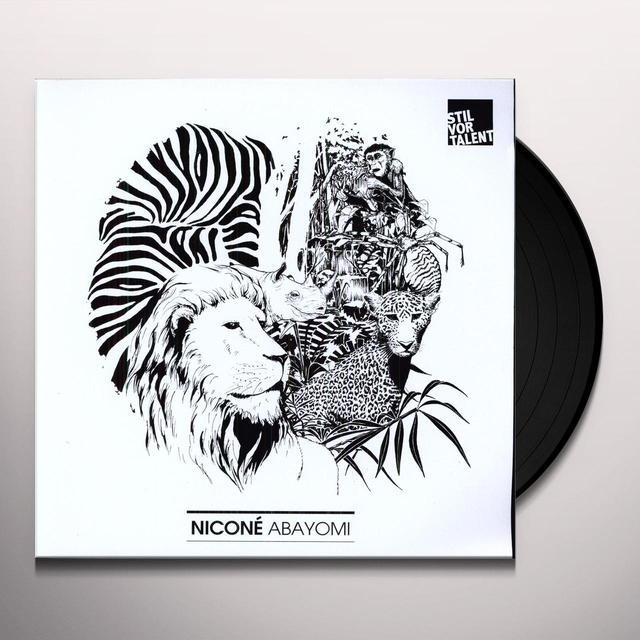 Nicone ABAYOMI Vinyl Record
