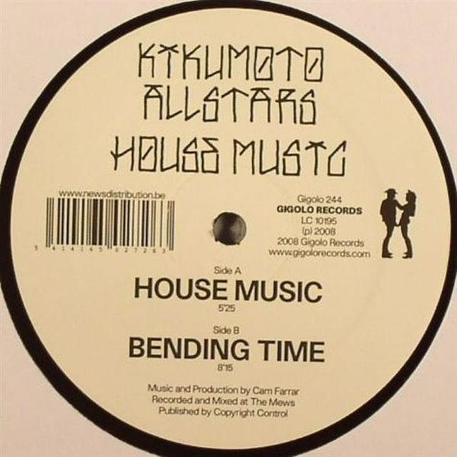 Kikumoto Allstars HOUSE MUSIC Vinyl Record