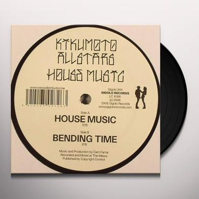 Kikumoto Allstars HOUSE MUSIC Vinyl Record