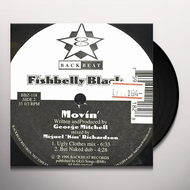 Fishbelly Black MOVIN Vinyl Record