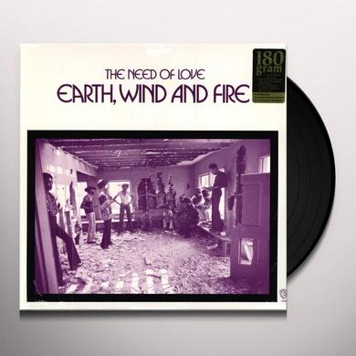 Earth, Wind & Fire NEED OF LOVE Vinyl Record - 180 Gram Pressing