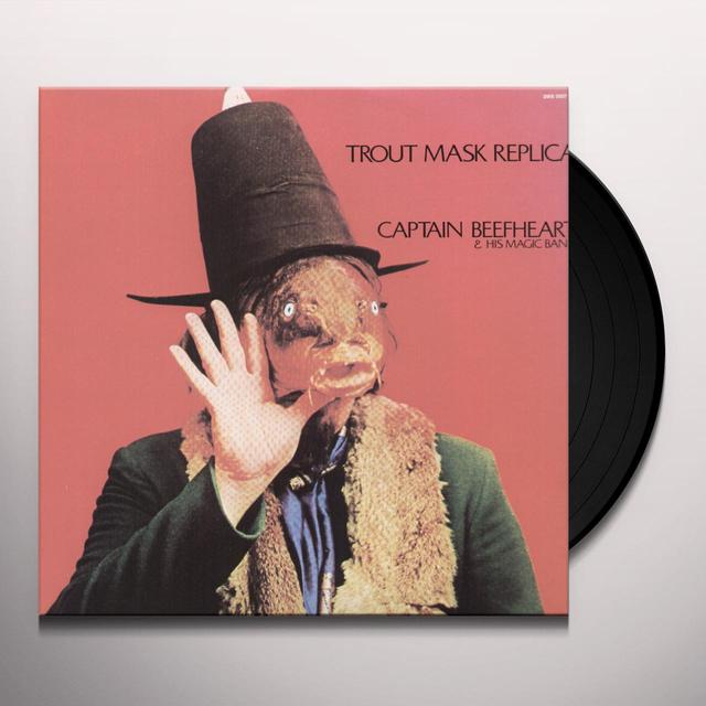 Captain Beefheart TROUT MASK REPLICA Vinyl Record