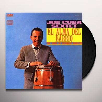 Joe Cuba Sextet ALMA DEL BARRIO THE SOUL OF SPANISH HARLEM Vinyl Record