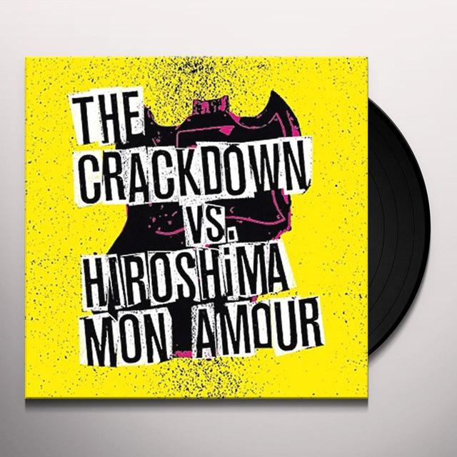 Crackdown / Hiroshima Mon Amour BROKEN GUITARS & TRASHY BARS Vinyl Record