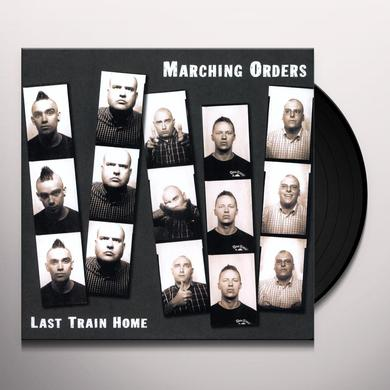 Marching Orders LAST TRAIN HOME Vinyl Record
