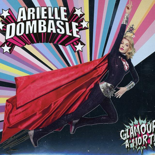 Arielle Dombasle GLAMOUR A'MORT Vinyl Record