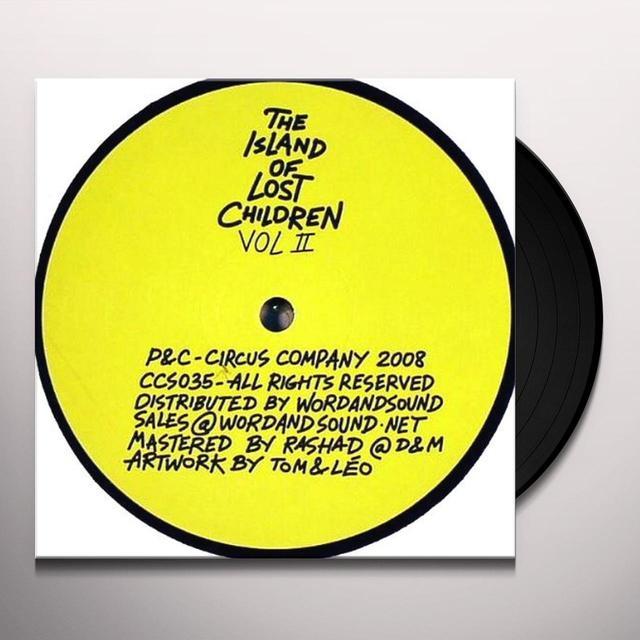 ISLAND OF LOST CHILDREN II / VARIOUS (EP) Vinyl Record