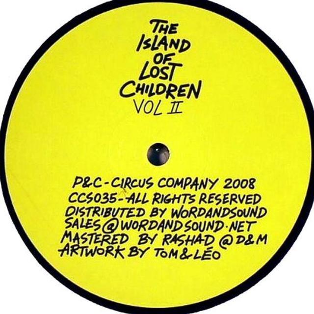 ISLAND OF LOST CHILDREN II / VARIOUS Vinyl Record
