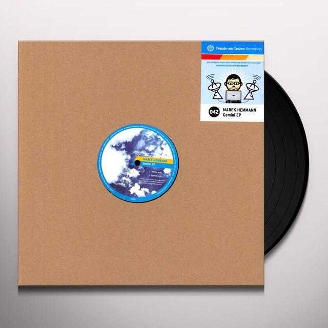 Marek Hemmann GEMINI (EP) Vinyl Record
