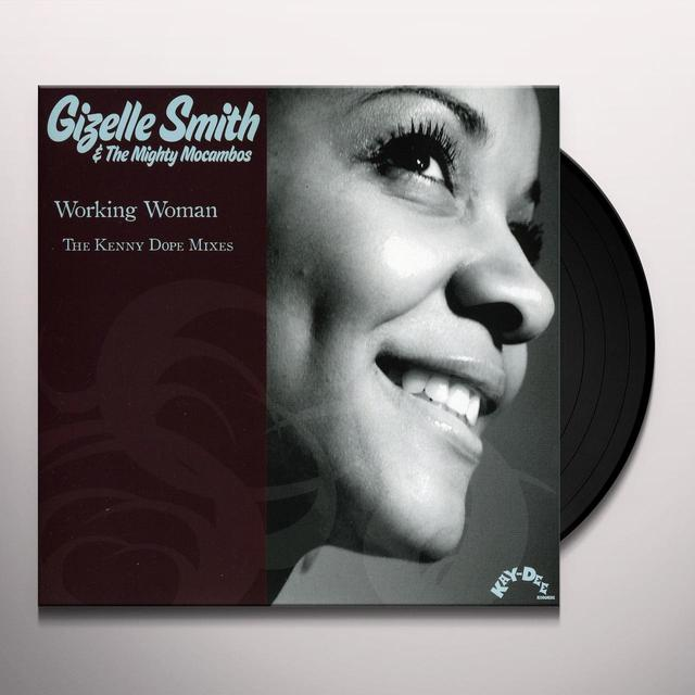 Giselle / Mighty Mocambos Smith WORKING WOMAN Vinyl Record