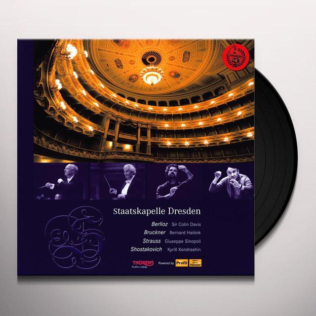 Bruckner / Berlioz / Strauss / Skd / Sinopoli STAATSKAPELLE DRESDEN Vinyl Record