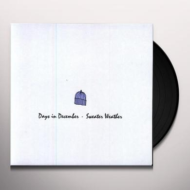 Days In December / Sweater Weather SPLIT 7 (Vinyl)
