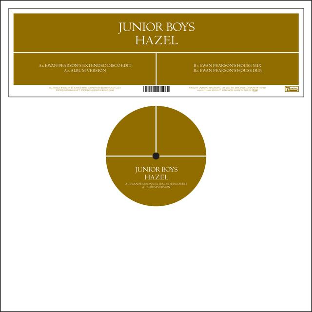 Junior Boys HAZEL Vinyl Record