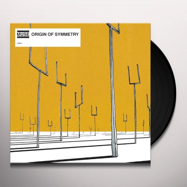 Muse ORIGIN OF SYMMETRY Vinyl Record