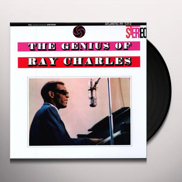 GENIUS OF RAY CHARLES Vinyl Record - Remastered, 180 Gram Pressing