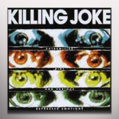 Killing Joke EXTREMITIES DIRT & Vinyl Record - Red Vinyl, UK Release