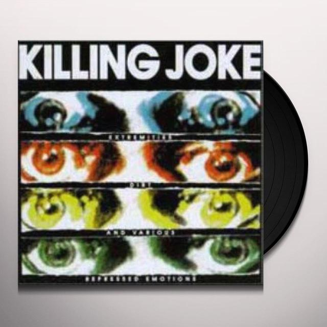 Killing Joke EXTREMITIES DIRT & (GREEN) Vinyl Record - UK Release