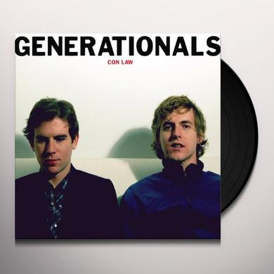 Generationals CON LAW (Vinyl)