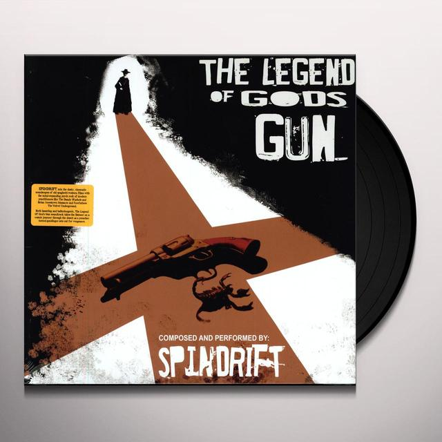 Spindrift LEGEND OF GOD'S GUN Vinyl Record - Digital Download Included