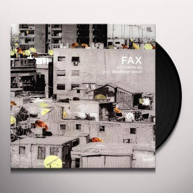 Fax COLORANTE (EP) Vinyl Record
