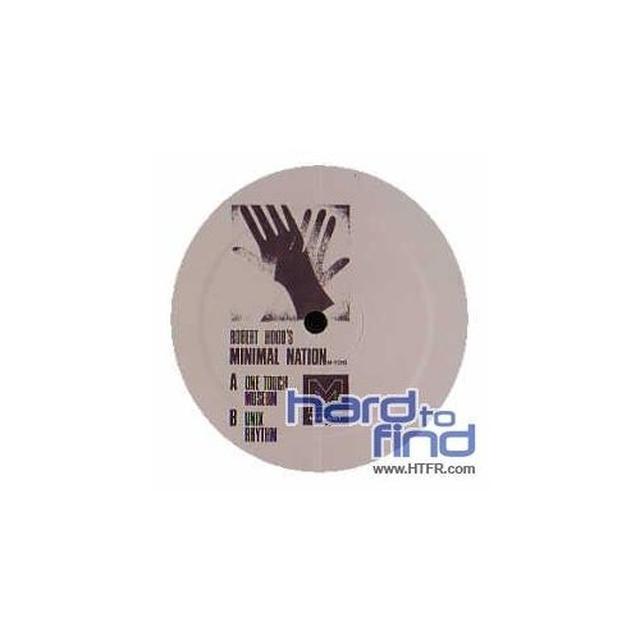Robert Hood MINIMAL NATION Vinyl Record