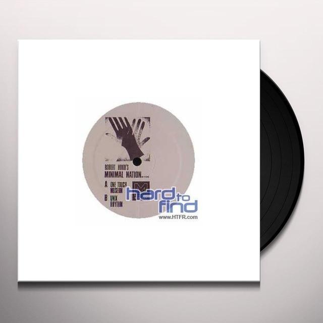 Robert Hood MINIMAL NATION Vinyl Record - w/CD