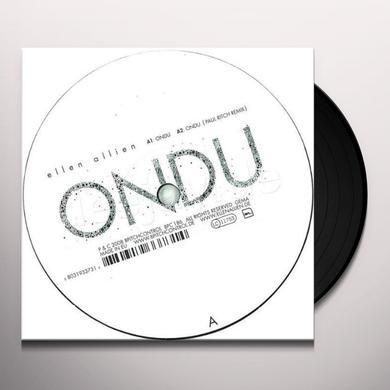 Ellen Allien ONDU Vinyl Record