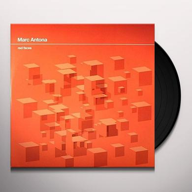 Marc Antona RED FACES (EP) Vinyl Record