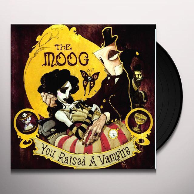 Moog YOU RAISED A VAMPIRE Vinyl Record